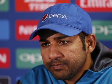 File image of Pakistan's Sarfraz Ahmed during a press conference. Reuters