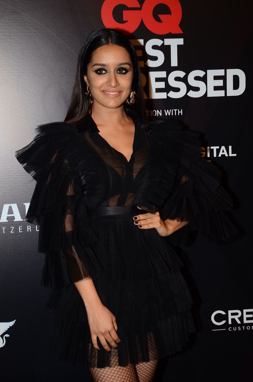 Shraddha Kapoor. Image provided by GQ Best Dressed 2017