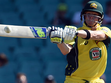 Australia's Steven Smith will hope for a rain-free match. AFP