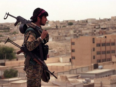 Syria Clashes between rebels and USbacked Kurdish fighters kill 11 in Aleppo province