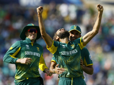 Imran Tahir won the Man of the Match for his figures of 4/27. Reuters