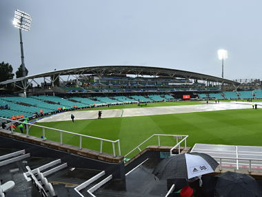 A view of The Oval cricket ground . AFP