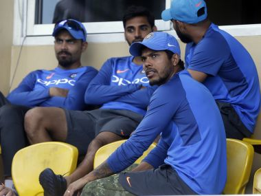 Umesh Yadav risks running out of chances to prove his worth. AP