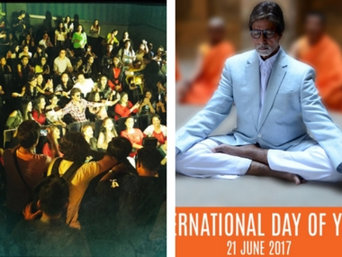Shah Rukh Khan meets Sejals, Amitabh Bachchan celebrates International Yoga Day: Social Media Stalker's Guide
