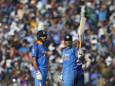 MS Dhoni and Yuvraj Singh scored centuries in the series versus England. AP