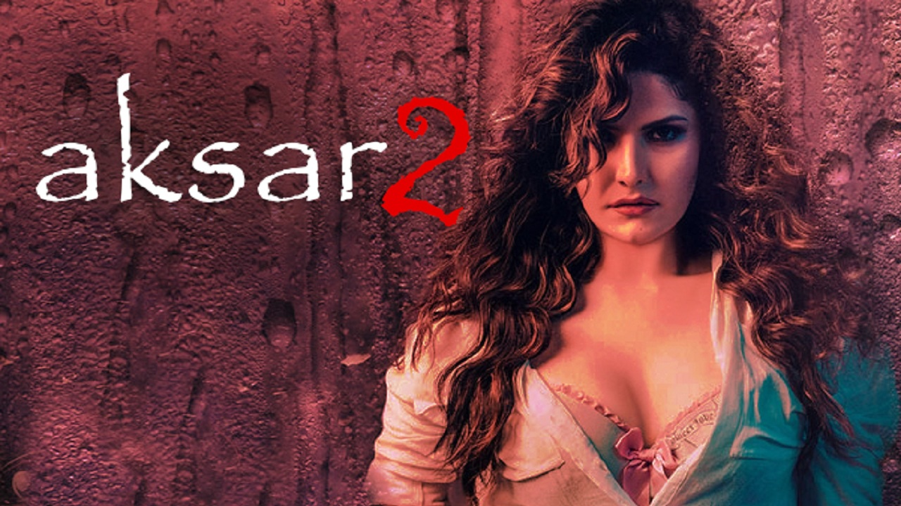 Zareen Khan in poster of Aksar 2. Twitter