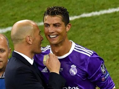 La Liga: Cristiano Ronaldo will remain a Real Madrid player for the next 2-3 years, says coach Zinedine Zidane