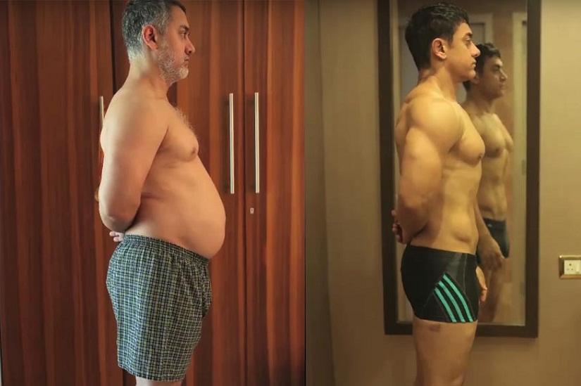 Aamir Khan's Fit to Fat transformation. News 18