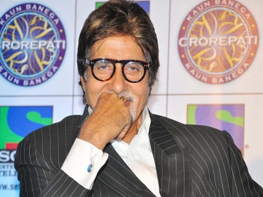 MUMBAI, INDIA ? JULY 7: Actor Amitabh Bachchan during a press conference announcing the 4th season of gameshow 'Kaun Banega Crorepati' on Sony Entertainment Channel in Mumbai on Wednesday, July 7, 2010. (Photo by Yogen Shah/India Today Group/Getty Images)