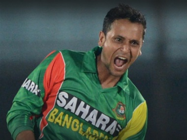 File image of Bangladesh cricketer Arafat Sunny. Image Courtesy: Facebook