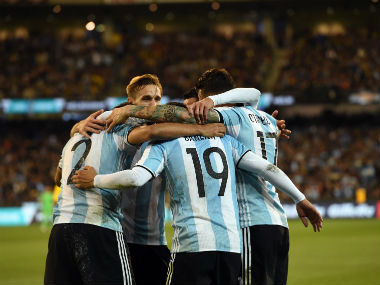 International friendlies: Argentina ride on Gabriel Mercado goal to down Brazil before World Cup qualifiers