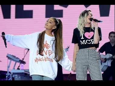 One Love Manchester: Ariana Grande, Chris Martin perform to packed stadium, as music trumps terror