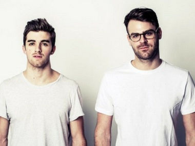 The Chainsmokers. File image.