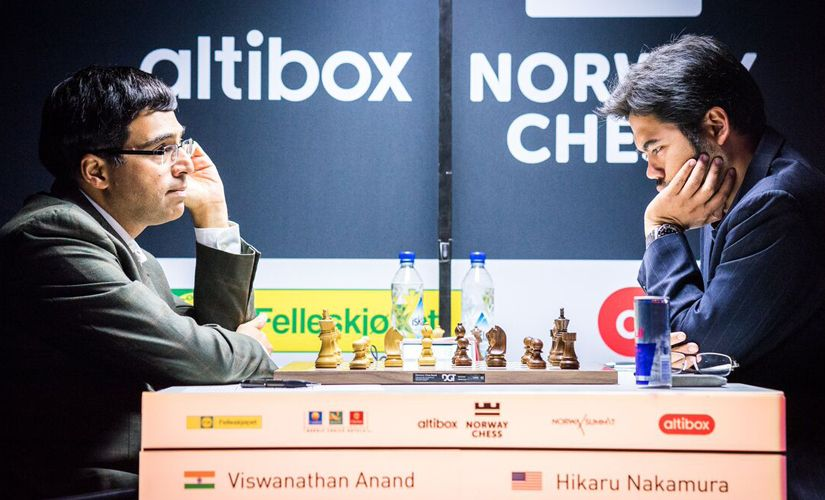 Altibox Norway Chess Viswanathan Anands prospects fade after Round 7 draw