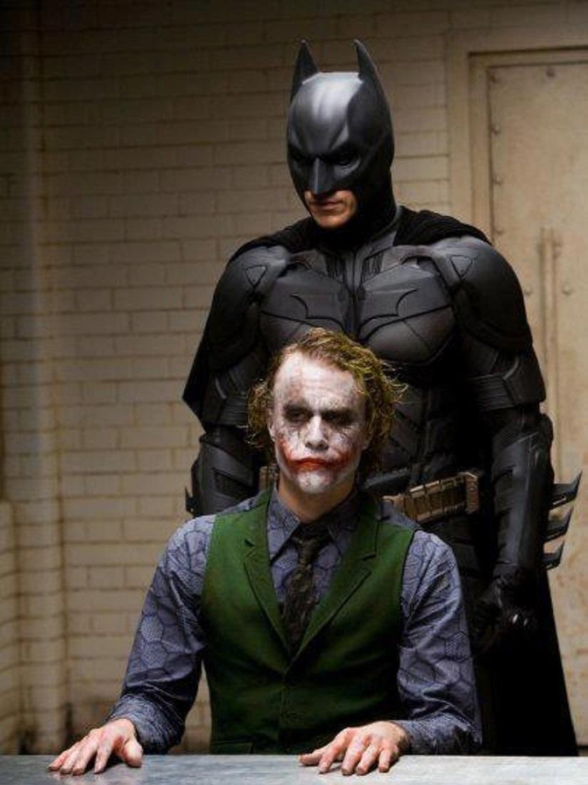 Christian Bale as Batman in Christopher Nolan's films