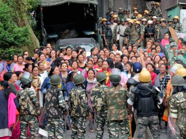 Gorkhaland agitation NHPC shuts down hydel power plant in Ramdi after mob surrounds unit