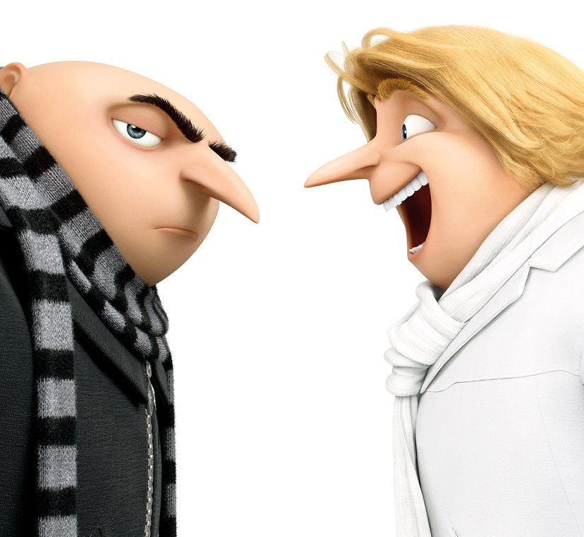 Poster of Despicable Me 3. Image via Twitter