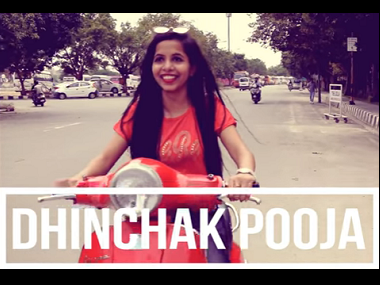 Dhinchak Pooja might be in trouble for riding scooter without helmet in 'Dilon Ka Shooter'