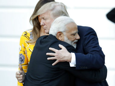 Narendra Modi at White House Donald Trump urges India to cut trade barriers as both leaders stress on greater ties