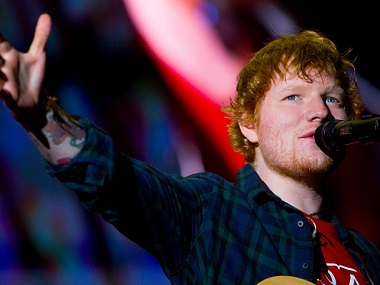 Ed Sheeran injures arm in bicycle accident, says it
