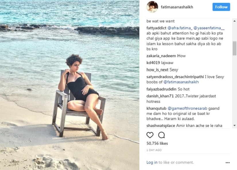 Fatima Sana Shaikh trolled for posting swimsuit photo, joins long list of body-shamed women celebs