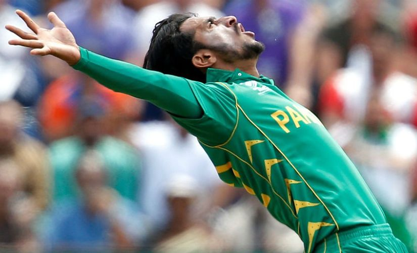 Pakistan Hasan Ali has a happy knack of picking wickets in death overs. File