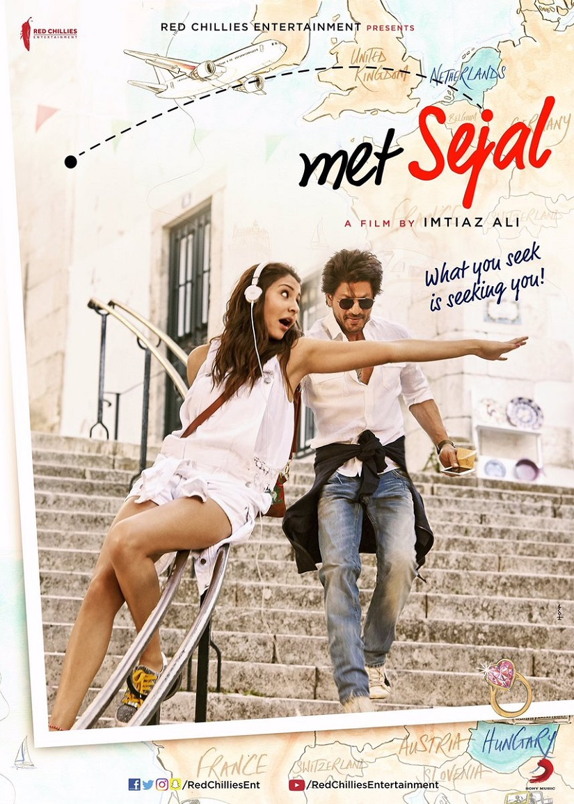 Imtiaz Ali's Shah Rukh Khan-Anushka Sharma starrer is called Jab Harry Met Sejal: See the first look