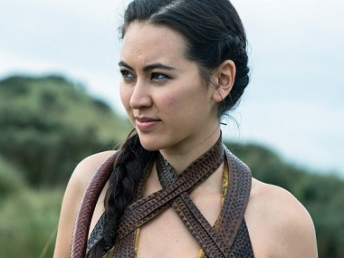 Jessica Henwick in Game of Thrones. Image from Twitter.
