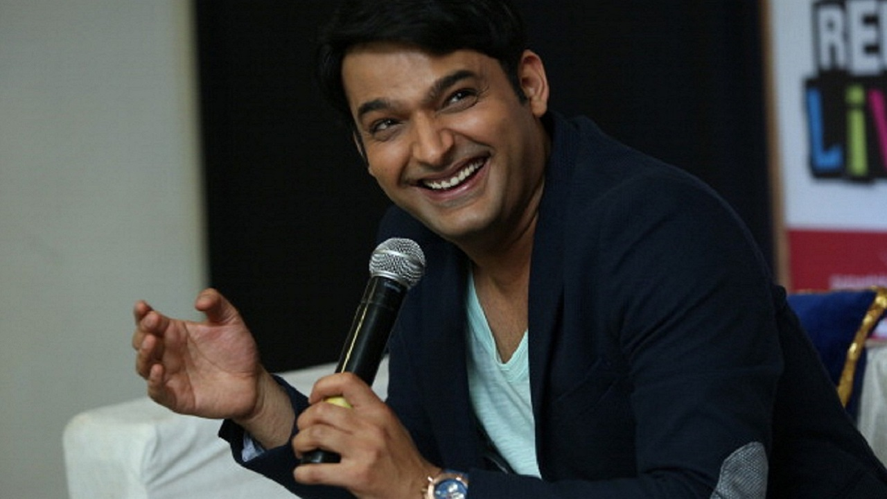 """NEW DELHI, INDIA - JULY 8: Stand-up comedian Kapil Sharma during an interview on July 5, 2014 in New Delhi, India. Winner of popular comedy shows, Kapil Sharma now hosts the television comedy show """"Comedy Nights with Kapil"""".(Photo by Raajessh Kashyap/Hindustan Times via Getty Images)"""