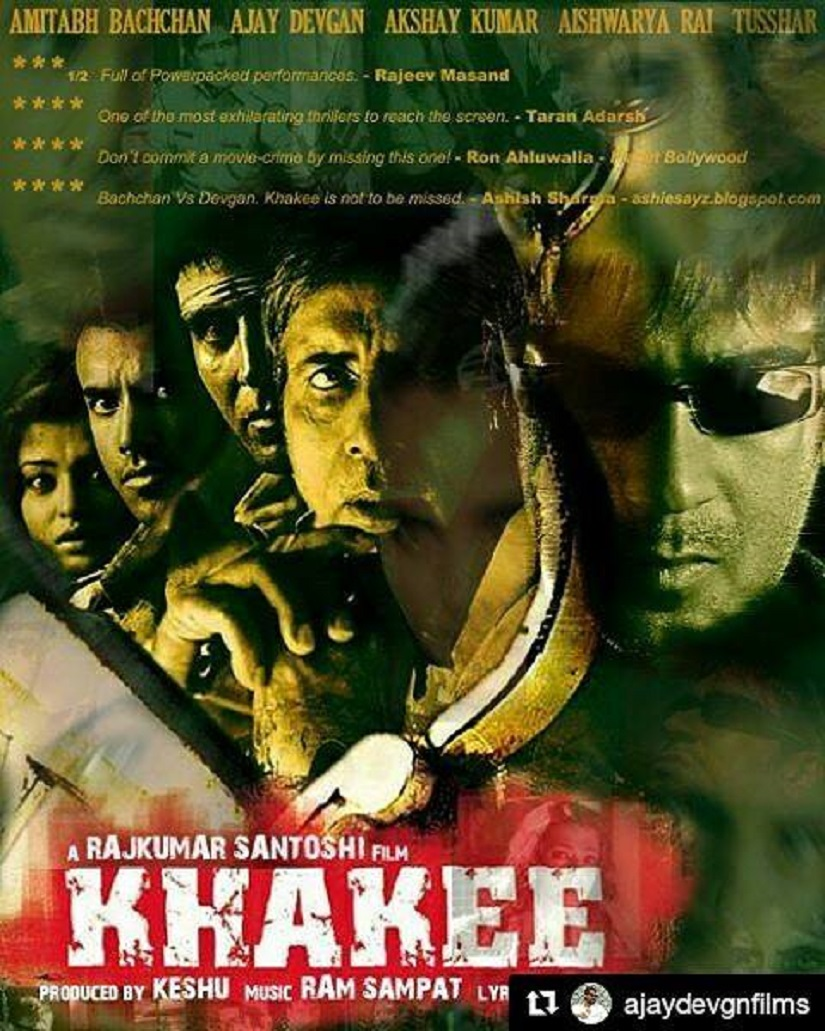 The poster of Khakhee. Image from Facebook