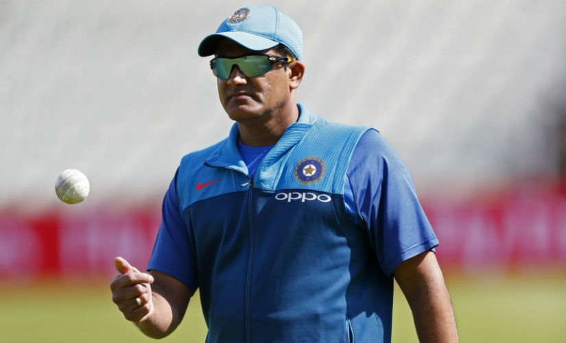 Anil Kumble steps down as India head coach ahead of West Indies tour