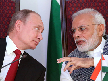 Narendra Modi in Sochi All you need to know about CAATSA that threatens to scupper PMs Russia outreach