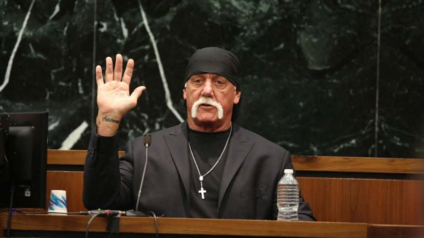 Hulk Hogan in Netflix's 'Nobody Speak: Trials of the Free Press'. Still from the documentary.