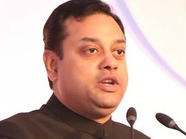 Sambit Patra says Rahul Gandhi should drop his surname as it was stolen by his family Prahlad Joshi calls his family fake Gandhis