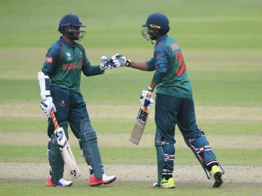 Shakib and Mahmadullah put on 224 for the fifth wicket. AP