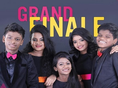 Finalists of Junior Super Singer. Image from Twitter.