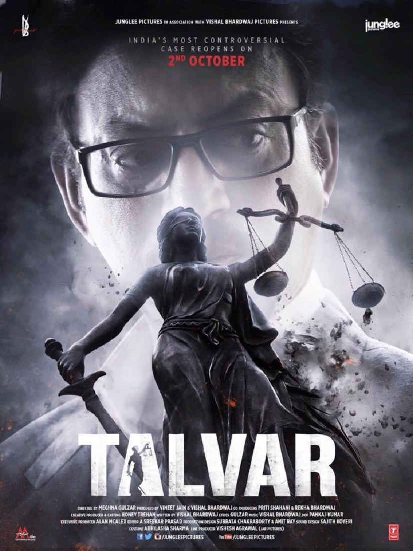 The poster of Talvar. Image from Facebook