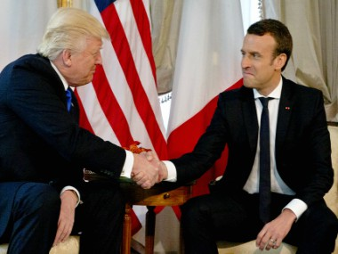 Emmanuel Macron says an ally must be reliable after Donald Trump pulls US troops out of Syria