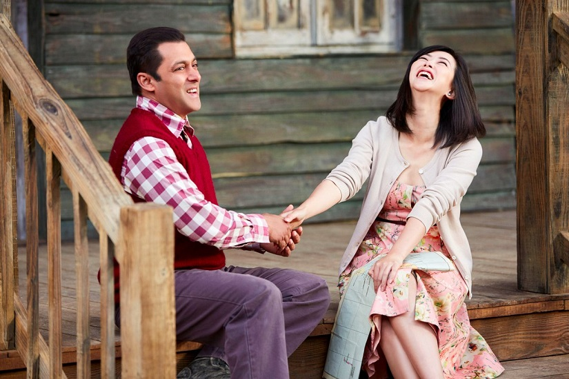 Salman Khan and Zhu Zhu in 'Tubelight'. The film's release in Pakistan is now mired in uncertainty. Image via Twitter