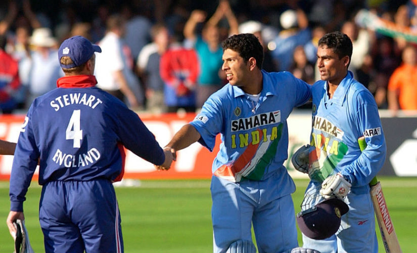 Yuvraj's innings was crucial for the mammoth run-chase. Getty images