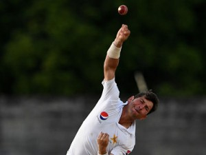 Yasir Shah in this file photo. AFP