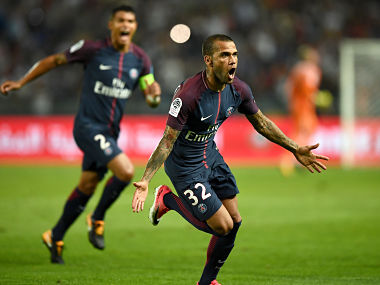 French Super Cup Dani Alves powers Paris SaintGermain to victory over Monaco