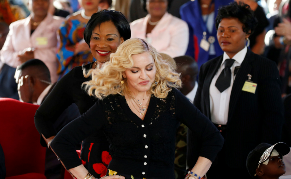 Madonna inaugurates children's hospital in Malawi named after her adopted daughter