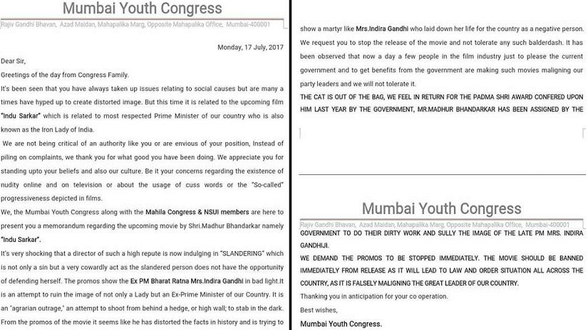 Indu Sarkar: CBFC directs Madhur Bhandarkar to approach FCAT after Congress protests