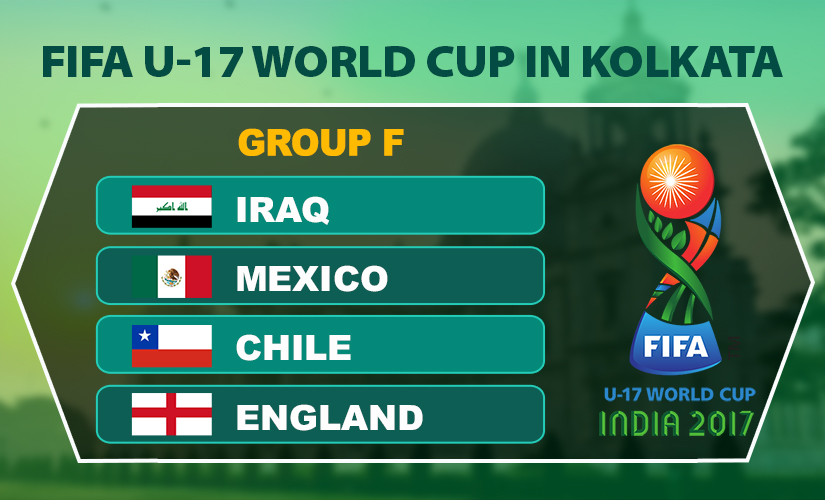 FIFA U-17 World Cup 2017: Kolkata to host 'Group of Death' featuring England, Chile and Mexico
