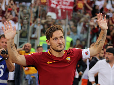 Laureus World Sports Awards, Best Sporting Moment August nominees: Francesco Totti's farewell