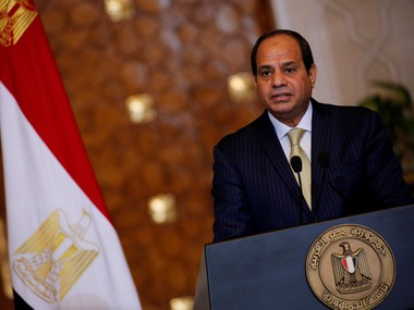 Twostate solution only way to end PalestinianIsraeli conflict Egypt president AbdelFattah alSisi