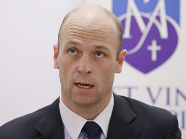 File image of Australian Cricketers Association chief executive Alistair Nicholson. Reuters