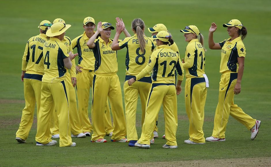 Partners in crime Meg Lanning and Ellyse Perry combine to power Australia into semis