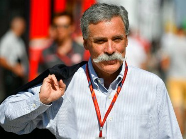 Formula One CEO Chase Carey views China as longterm play not an immediate priority